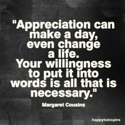Appreciation is a wonderful thing copy
