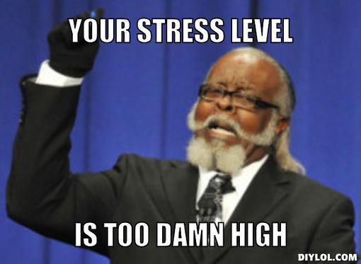 too-damn-high-meme-generator-your-stress-level-is-too-damn-high-466d8c