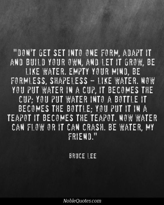bruce lee water, bruce lee be water, musings episode 31 lost, feeling lost, how to stop feeling lost, aimless, rego's life, rego's life blog, rego's life official site, episodic musings of a quintessential entrepreneur