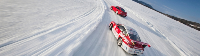 kall auto lodge, ice driving in sweden
