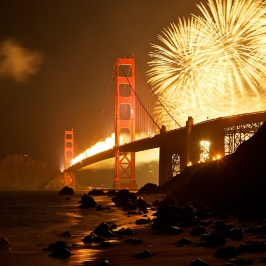 new years eve party ideas, new years eve ideas, new years eve party, new years party ideas,ideas for new years eve, romantic new years eve ideas, San Francisco New Year's Eve Fireworks Show 2014