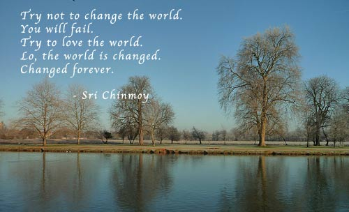 sri chinmoy, save the world, how to save the world, rego's life, episodic musings episode 41 it's not your job to save the world, helping people, people helping people, you can't save the world regos life, regoslife, rego, try not to change the world sri chinmoy