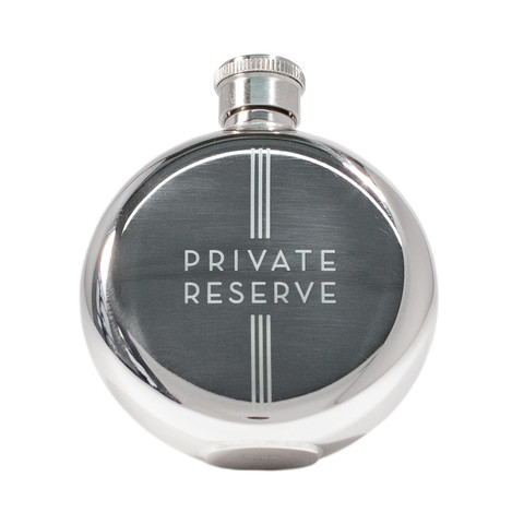 Izola Private Reserve 3oz Flask,rego's life, travel bar, casual travel bar, for the weekenders the casual travel bar 101,private reserve flask, 3oz flask