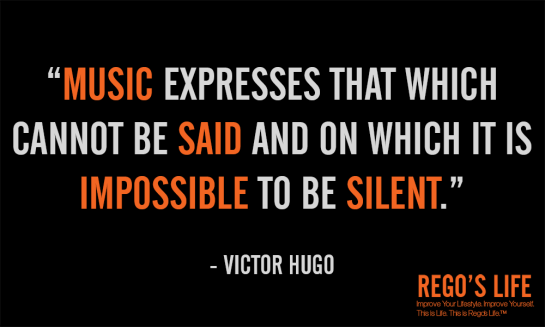 music expresses that which cannot be said and on which it is impossible to be silent victor hugo, rego's life quotes, victor hugo quotes, music quotes, victor hugo, rego's life, quote wednesdays, rego's life quote wednesdays,