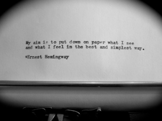 my aim is to put down on paper what i see ernest hemingway quotes rego's life, Musings Episode 64 Writer's Burnout, Rego's Life Musings Episode 64 Writer's Burnout, Musings Episode 64 Writer's Burnout Rego's Life, Rego's Life, writer's burnout, writer's block, writers block, overcoming writer's block