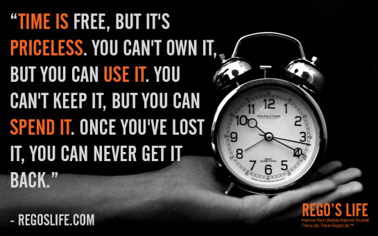 Own It Quotes | Time Is Free But It S Priceless You Can T Own It But You Can Use It