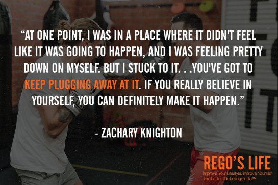 At One Point I Was In A Place Where It Didn't Feel Like It Was Going To Happen And I Was Feeling Pretty Down On Myself But I Stuck To It you've Got To Keep Plugging Away At It If You Really Believe In Yourself You Can Definitely Make It Happen Zachary Knighton, Rego's Life quotes, Zachary Knighton Quotes, Zachary Knighton, Musings Episode 84 Running in Place, Rego's Life Musings Episode 84 Running in Place, Musings Episode 84 Running in Place Rego's Life, Rego's Life, regoslife, episodic musings, episodic musings of a quintessential entrepreneur, don't live the same day twice, rat race, entrepreneur, living one day in 70 years, living 70 days in one year, pros and cons of being an entrepreneur, running your own business, pros and cons of having a business, dissatisfaction, tired, routine, schedule, day in day out, job vs business, truth about being an entrepreneur